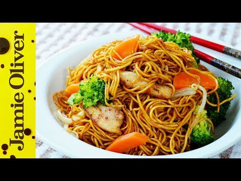 Stir Fry Chicken Noodles 鸡肉炒面 | The Dumpling Sisters