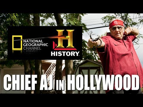 Chief AJ in Hollywood