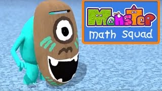 Monster Math Squad |  FULL EPISODE  | Scary Face Picture Day | Learning Numbers Series