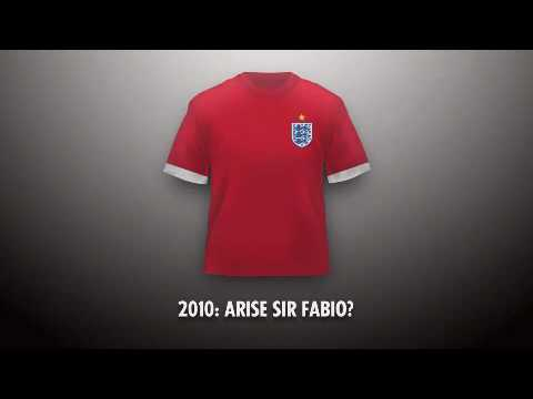 England shirts 19662010, The Sun  VenablesElvis World Cup song