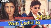 Woh Ladki Jo - VIDEO SONGShah Rukh Khan & Twinkle KhannaBaadshahSuperhit Bollywood Song