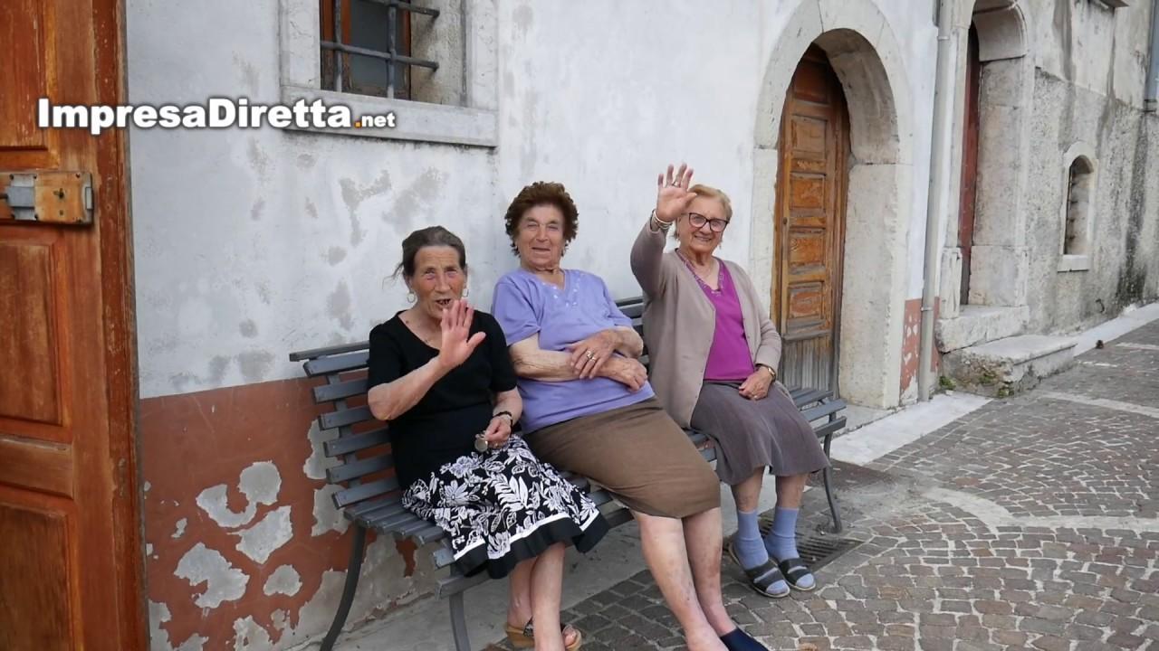 Le bellezze dell'Irpinia: Nusco (AV), uno dei borghi più belli d'Italia.