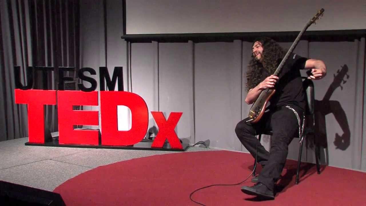 Una nueva faceta en el bajo eléctrico: Mauricio Nader at TEDxUTFSM