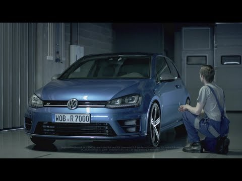 Volkswagen Golf R commercial