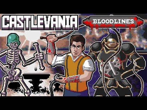 Castlevania: Bloodlines Sega Genesis Full Playthrough