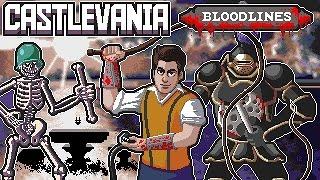 Castlevania: Bloodlines (Sega Genesis) Full Playthrough w/ Mike Matei