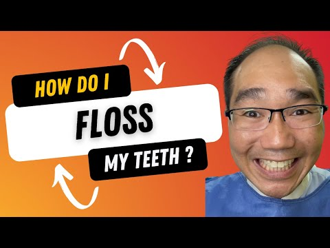 How to Floss Your Teeth using Dental Floss by Dr. Tristan Peh @ St. Andrew's Dental Surgeons