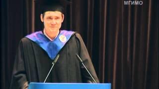 видео: Выпускник МГИМО