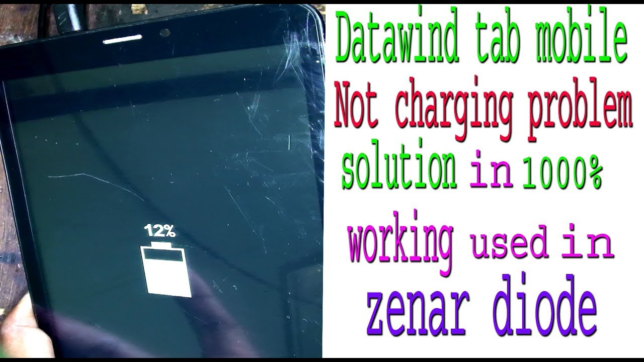 Datawind Tab Not charging problem solution in 1000% working