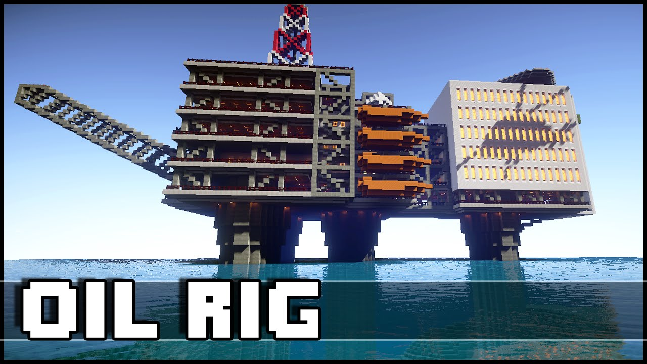 Minecraft - Oil Rig