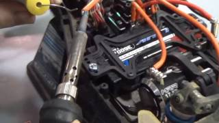 Jay Kennedy how to soldering wires to brushless motor
