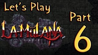 Lets Play (PL) La Mulana part 6 - Mokro mi