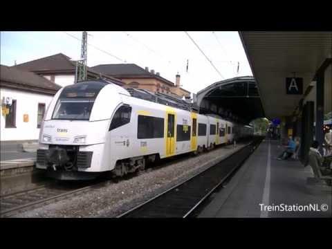Vertrek Trans Regio 460 514-3 + 460 007-8 Station Bonn