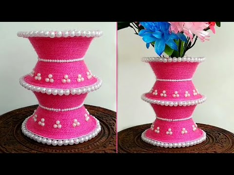Best Out Of Waste Disposable Bowls   Waste Thermocol Bowl Craft Idea