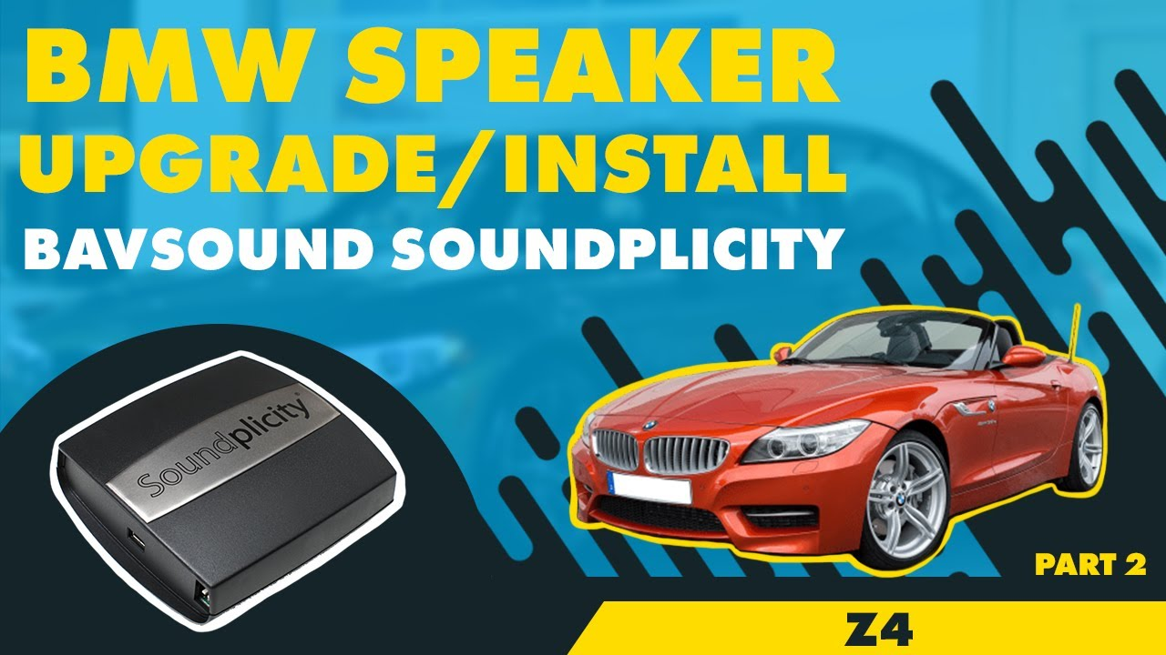 Bavsound Z4 Soundplicity One Or Control Ii Iii