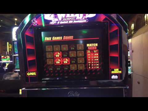 Casino Slots Hot Bonus Roll & Quick Hit Bonus Rounds Harra's Laughlin Nevada