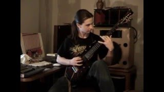 Jason Richardson - There Is No Business To Be Done On A Dead Planet - All Shall Perish Cover