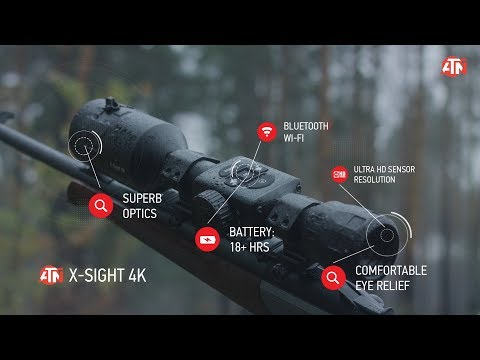 ATN X-Sight 4K BuckHunter is the Daytime Hunting Scope that Will Change the Game!