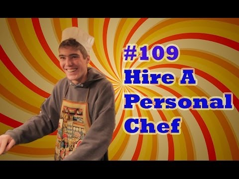 Bucket List #109 | Hire a Personal Chef for a Day | ProjectOneLife