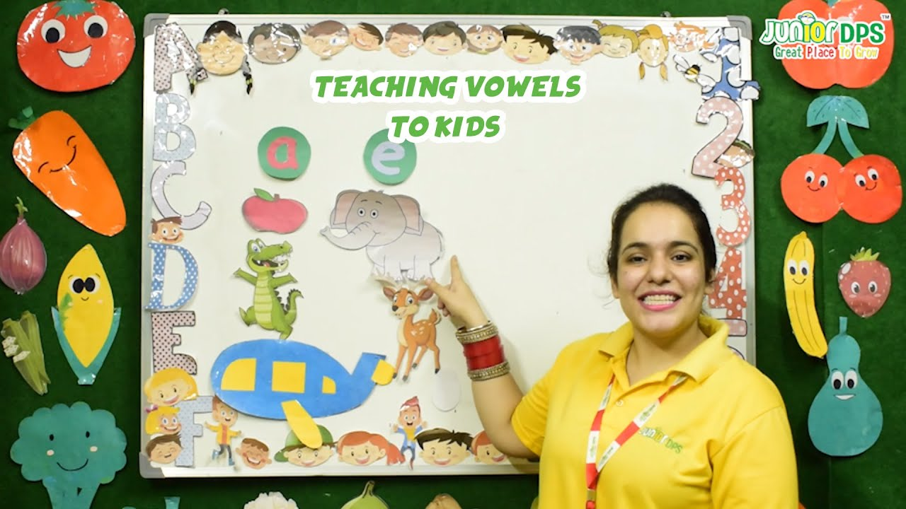 Learning the Vowels Sounds| Junior dps | Learning Vowels  |