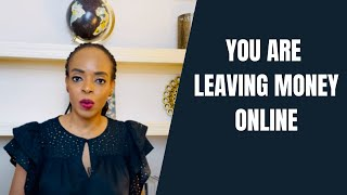 African Professional: You Are Leaving Money Online (14 Tips to Monetize Today)