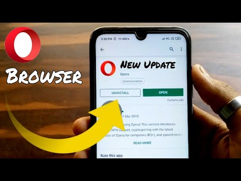 New Update Of Opera Browser ।। How To Use VPN In Opera Browser ।। Best Browser With Free VPN ।।