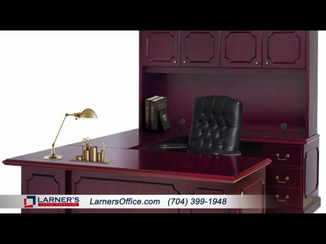 Traditional Desk Set Collection by OfficeSource    Presented by Larner's Office Furniture   Charlott