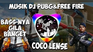 Music dj pubg&free fire by coco lense, #pubg #freefire #dj #music