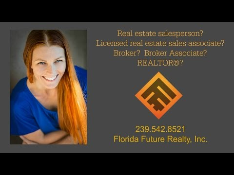 Real Estate Sales Associate vs Real Estate Broker vs REALTOR
