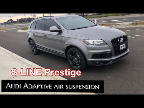 2011 Audi Q7 3.0T S Line Prestige Review - The Most Technologically Advanced SUV for its time?