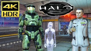 [4K HDR] HALO: Combat Evolved - Xbox One X Gameplay (TMCC) @ 60ᶠᵖˢ UHD ✔