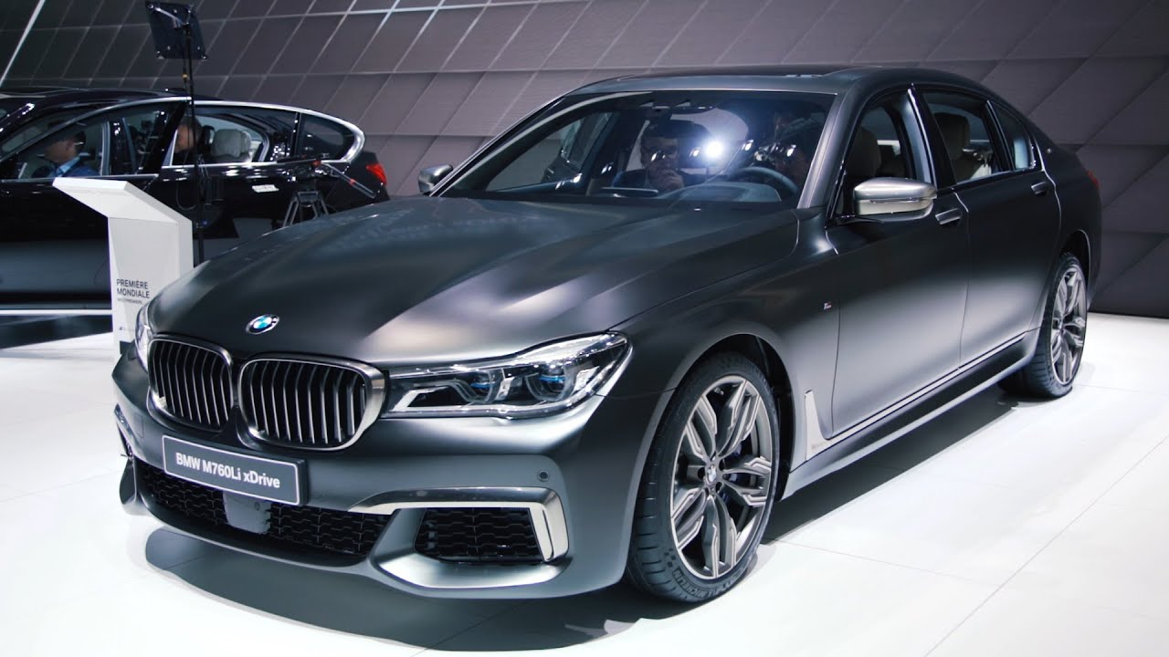 BMW M760Li: The Fastest Accelerating BMW You Can Buy ...