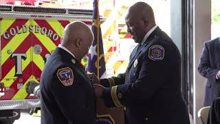 Swearing-In Ceremony for Chief Joe Dixon