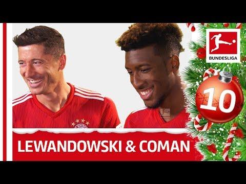 Bundesliga. Lewandowski uczy Comana języka polskiego. Wideo