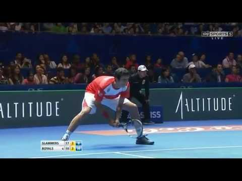 Federer & Nestor vs Wawrinka & Melo FULL MATCH HD IPTL Singapore 2015