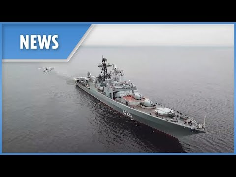Vostok 2018: Russia's anti submarine defence ships