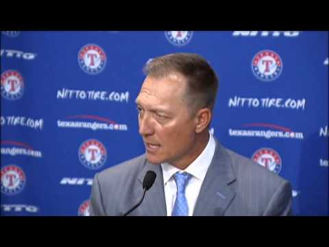 Jeff Banister press conference