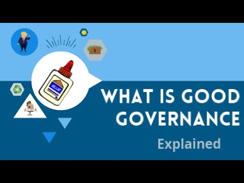 What is (Good) Governance