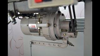Підключення промислової швейної машинки з 380 вольт на 220 вольт через конденсатор.