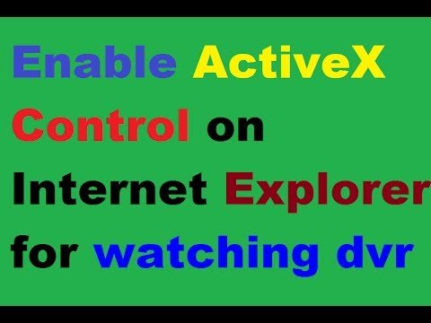 Enable ActiveX Control Properly on Internet Explorer Tutorial Step by Step