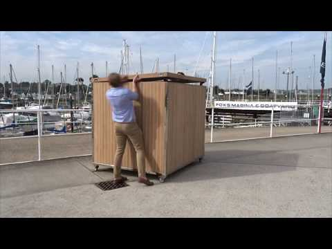 Bespoke Storage Crate for a 60m Superyacht