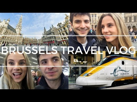 🇧🇪 EXPLORING BRUSSELS || Travel Vlog 007 🇧🇪