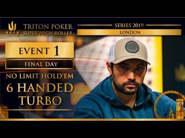 Triton London 2019 - NLH 6-Handed TURBO £25K - Final Day