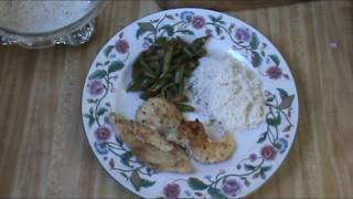 Green Beans Adubo recipe: oil green beans 2 cloves garlic 1/2 chopp...