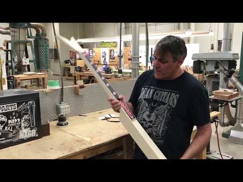 Episode 1: Inside the Woodshop with Dan Russell  GWAR Razor V Custom Bass