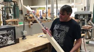 Episode 1: Inside the Woodshop with Dan Russell - GWAR Razor V Custom Bass