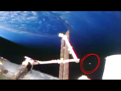UFO Discovered In Nasa Video Mysterious Orb Object Located Upon Cygnus Arrival At ISS