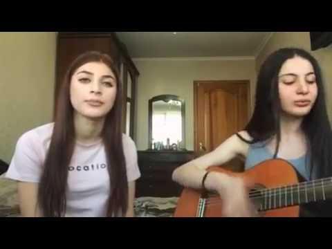 Ossetians girl sing