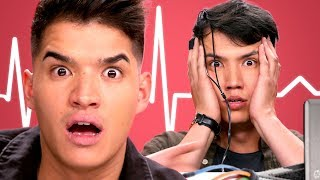 Alex Wassabi takes a Lie Detector Test with LazyRon!! | Detected thumbnail