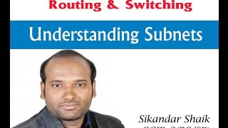 Understanding Subnets - Video By Sikandar Shaik || Dual CCIE (RS/SP) # 35012